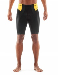 SKINS TRI 400 Mens Shorts Black/Yellow M
