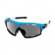 brýle HQBC Qert Plus FF modré 3 v 1 + čirá a oranž