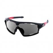 brýle HQBC Qert Plus FF černé 3 v 1 + čirá a oranž