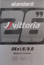 "duše VITTORIA Standard MTB 26"" x 1,5/2,0 AV 48 mm"