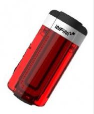 blikačka INFINI Tron zadní 6f USB black