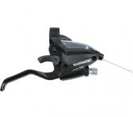 řadící+brzdové páky SH STEF500 3+7speed black