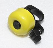 zvonek cink průměr 35mm žlutý