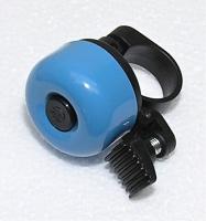 zvonek cink průměr 35mm světle modrý
