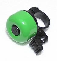 zvonek cink průměr 35mm světle zelený