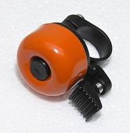 zvonek cink průměr 35mm oranžový