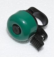 zvonek cink průměr 35mm tmavý zelený