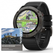Garmin fenix6X PRO Sapphire, GrayDLC/Black Band (MAP/Music)