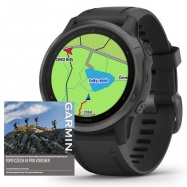 Garmin fenix6S PRO Sapphire, Gray/Black Band (MAP/Music)