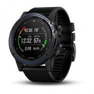 Garmin Descent Mk1 Sapphire Gray Titanium, Black band