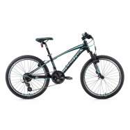 "MTB 24"" LF 20 Spider boy black/light green"