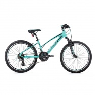 "MTB 24"" LF 20 Spider girl light green/black"
