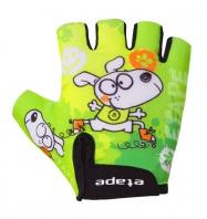 Etape – dětské rukavice TINY, zelená