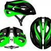 přilba HQBC Epiqe černo/reflex.zelená lesk.M53-58