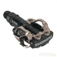 pedály SHIMANO PDM520 oboustranné SPD černé