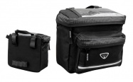 taška LONGUS BAR M na řidítka,černá,na suchý zip