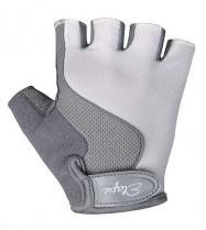 Etape - dětské rukavice Simple, bílá/šedá