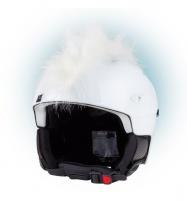 Crazy Uši ozdoba na helmu - Číro bílé