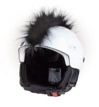 Crazy Uši ozdoba na helmu - Číro černé