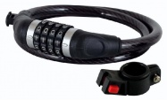 zámek LONGUS 950x12 kódový + držák černý