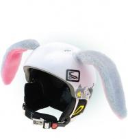 Crazy Uši ozdoba na helmu - KRÁLÍK velký