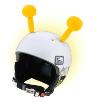 Crazy Uši ozdoba na helmu - TYKADLA žlutá