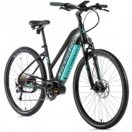 "cross 28"" LF 20 E-Bike Bend Lady 16,5"" black/green"