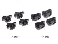 krytky do rámu SHIMANO pro kabeláž EWSD SMGM01 kul