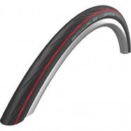 plášť SCHWALBE 25x622 Lugano, black/red, drátový