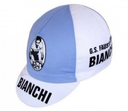 čepice cyklistická Profi Retro Bianchi Fausto Copp