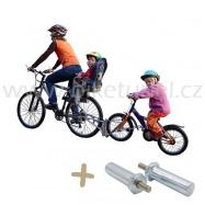 FOLLOW ME Tažné zařízení + adapter M6 pro kola Woom 2 a 3