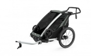 THULE CHARIOT CTS LITE 1 AGAVE 2021 + bike set + kočárkový set