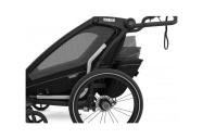THULE CHARIOT CTS SPORT 2 MIDNIGHT BLACK 2021  bike set + kočárkový set