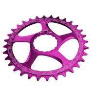 RACE FACE převodník SINGLE Direct Mount, N/W 32T 10-12SPD fialová