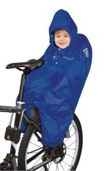 pláštěnka FORCE pončo na dítě v dětské sedačce mod