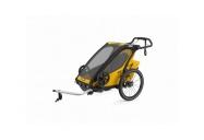 THULE CHARIOT CTS SPORT 1 SPECTRA YELLOW 2021 + bike set + kočárkový set