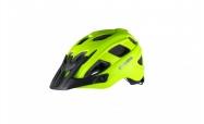 Dětská helma PELLS Wasp Green/Black - S (53-55cm)