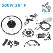 """EVbike Přední pohon na elektrokolo 500W/750W, 26"""", jednotka, LCD displej, přední umístění - EVBIKE"""