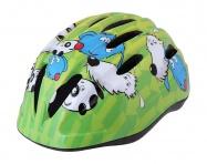Etape - dětská přilba na kolo Kiki, zelená