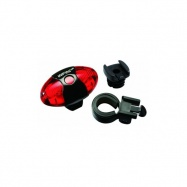 blikačka INFINI Vista I-405R 4f 5 LED zadní+bateri