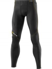 SKINS A400 Mens Black Long Tights