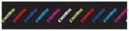 Pells Čelenka Run - černá, barevná loga