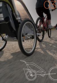 Set Chariot CTS cyklistický ( Bike set )