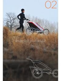 Set Chariot CTS Běžecký a in-line CX2 ( Jogging set )