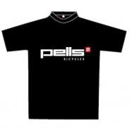 Pells Triko Slim černé - bílé logo - vel. XL