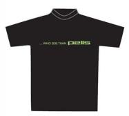 Pells Triko Slim černé - zelené logo Who... - vel. XL