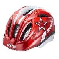 přilba KED 16 Meggy červené hvězdy XS/44-49cm