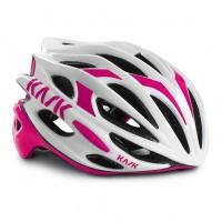 přilba KASK Mojito 16 white/pink M/48-58cm