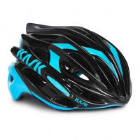 přilba KASK Mojito 16 black/light blue L/59-62cm
