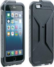 TOPEAK obal WEATHERPROOF RIDECASE pro iPhone 6 Plus černá/šedá